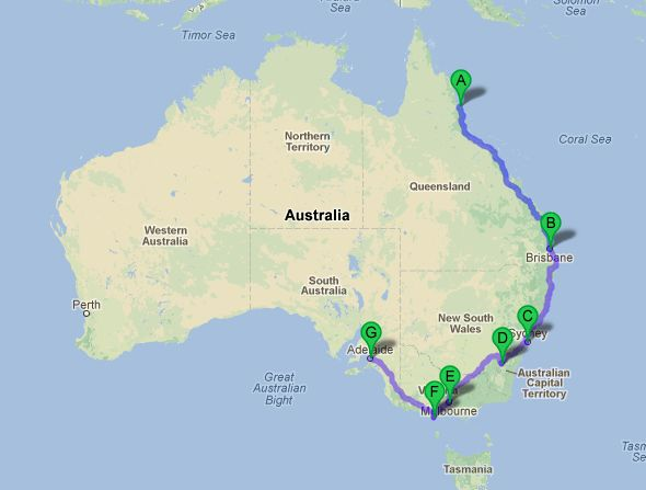 how to get post australia backpacker
