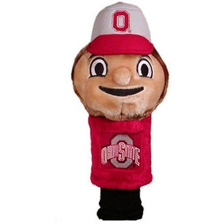 Team Golf Ncaa Ohio State Mascot Head Cover, Red