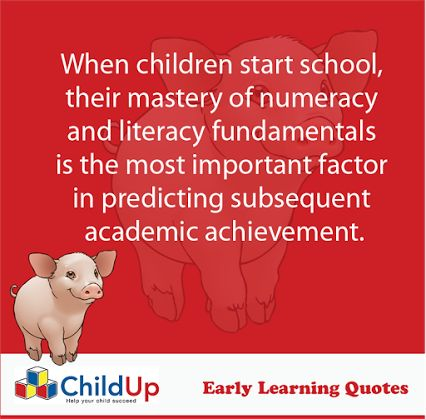 ChildUp Preschool Math Lessons: When children start school, their mastery of numeracy and literacy fundamentals is the most important factor in predicting subsequent academic achievement. #EarlyLearning #Preschool #Parenting