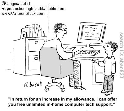 Dr. Kevin Leman talks about allowance. We've started doing this with our oldest.