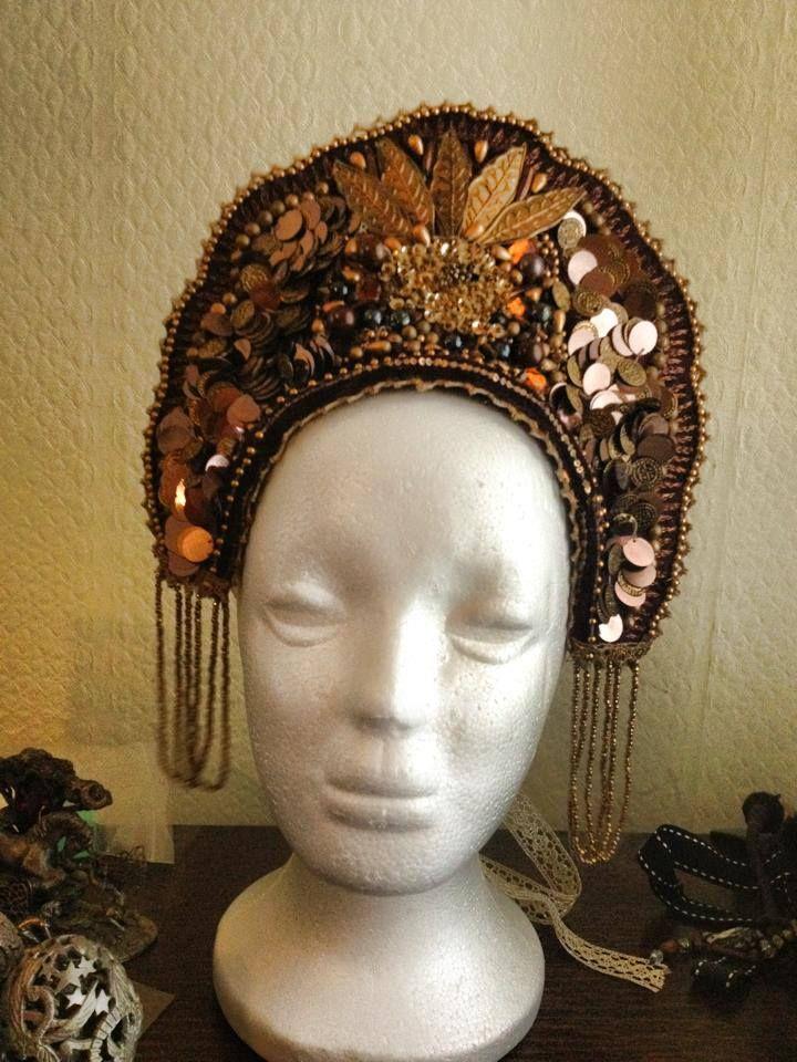 russian kokoshnik headdress | New 'Russian Opulence' Collection of Kokoshnik Headdresses