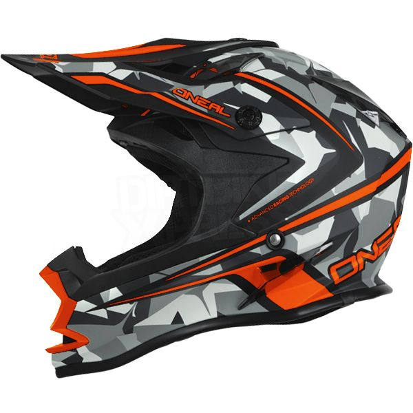 2016 oneal 7 series evo motocross helmet camo grey. Black Bedroom Furniture Sets. Home Design Ideas