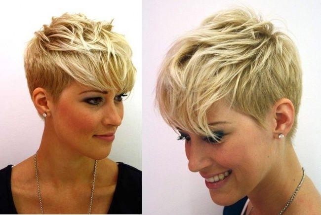 Pixie + undercut = coiffure magnifique ! 20 photos qui le prouvent - Coupe de cheveux                                                                                                                                                                                 More