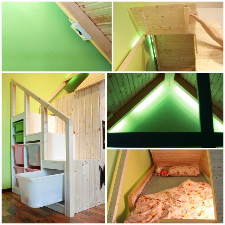 1000 id es sur le th me construire un lit sur pinterest cadres de lit lits et cadre de lit. Black Bedroom Furniture Sets. Home Design Ideas