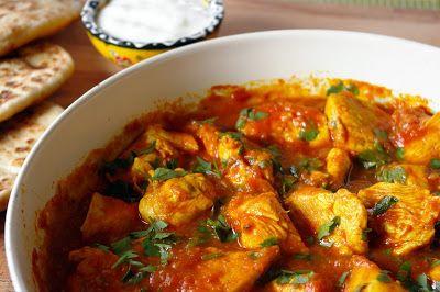 zadanie - gotowanie: Proste curry z kurczaka.