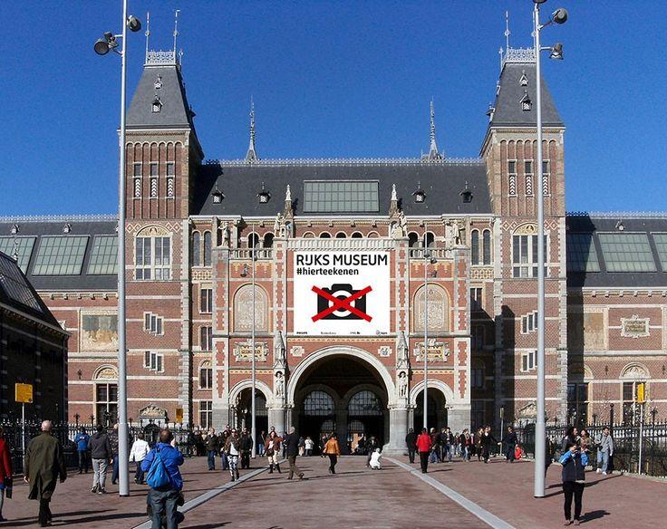 Photos interdites au Rijksmuseum d'Amsterdam