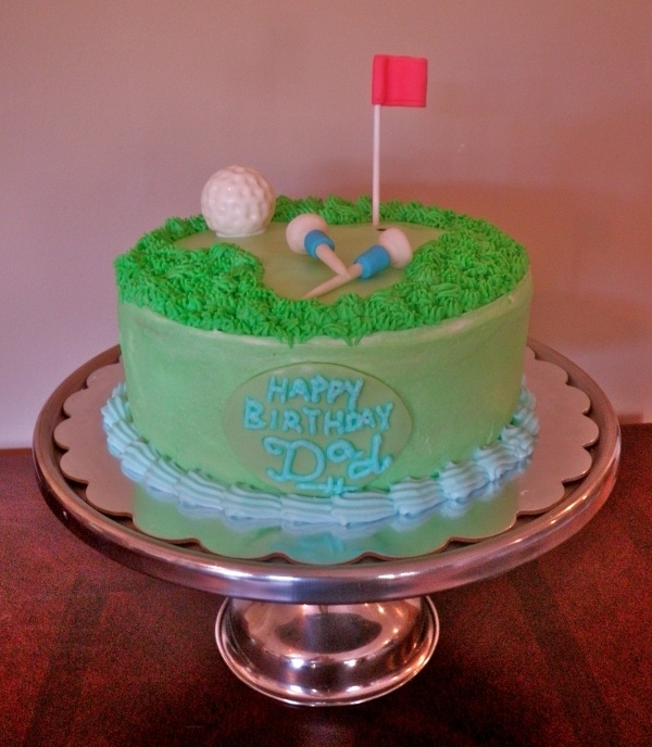 ... about Cakes Golf on Pinterest  Golf theme, My dad and Golf ball