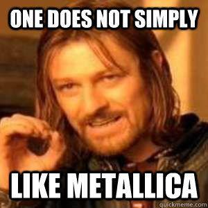 Metallica Meme Metallica Pinterest