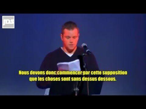 Les élites veulent interdire cette vidéo ! Matt Damon dénonce le Nouvel Ordre Mondial INCROYABLE !! - YouTube