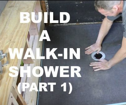 I LOVE my walk-in shower.Here's the story, my wife and I built our dream master bathroom. We saved our money and splurged on the remodel. The key element was a custom tile walk-in shower. It's way more convenient to stroll into the shower rather step over a tub or curb. This takes the worry out of falling and also makes cleaning a breeze. If you want to build a walk-in shower you're in the right place. Today you'll see how easy it is to install a Wedi Ligno shower pan...