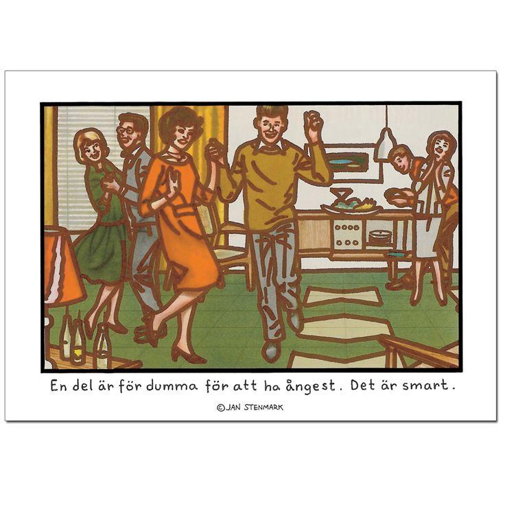 Affisch Jan Stenmark 'Smart' 50x70 cm
