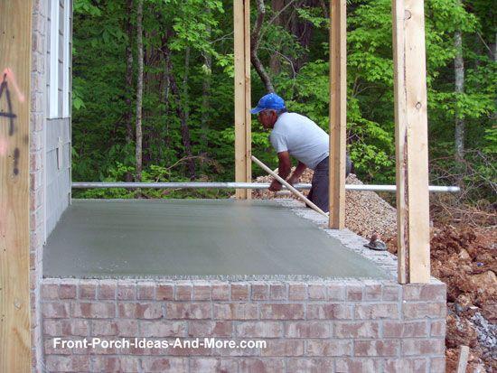 17 best backyard/deck ideas images on pinterest | raised patio ... - Raised Concrete Patio Ideas