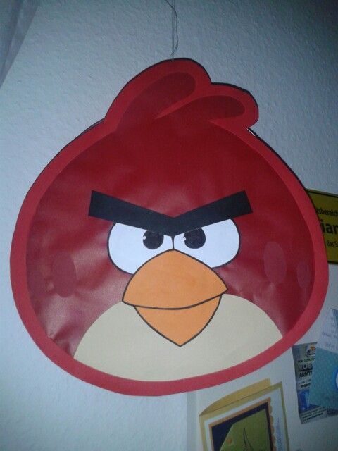 AngryBirds Laterne