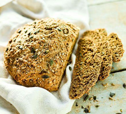 seeded wholemeal soda bread.