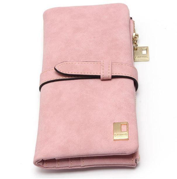 Luxusní dámská peněženka se zipem a místem pro karty a fotky – růžová – SLEVA 70 % + POŠTOVNÉ ZDARMA Na tento produkt se vztahuje nejen zajímavá sleva, ale také poštovné zdarma! Využij této výhodné …