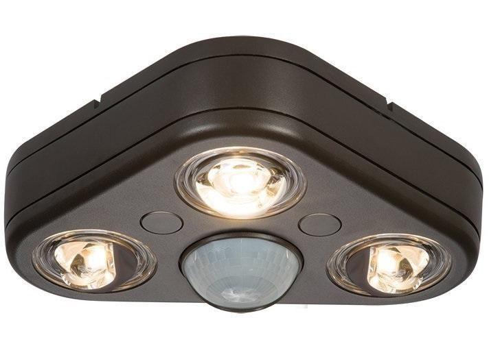 All-Pro REV32735M Revolve Motion Sensing LED Outdoor Flood Light, 120 V