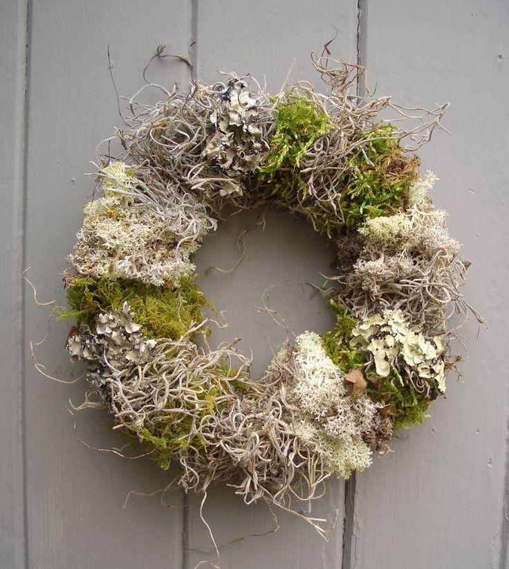four moss wreath by pippa designs   notonthehighstreet.com