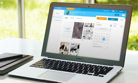 www.popcomics.com - aplikacja webowa i mobilna na system iOS dla twórców i fanów komiksów
