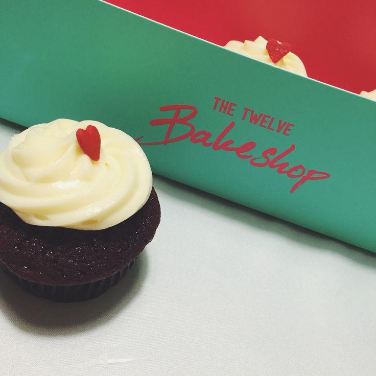 Red Velvet Cupcake @ The Twelve Bakeshop