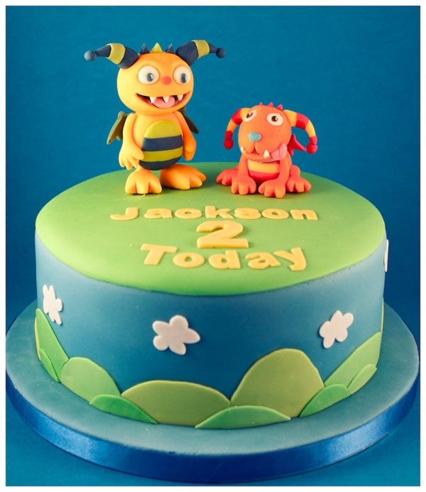 Henry Hugglemonster Cake by Andrea Hillman, via Behance