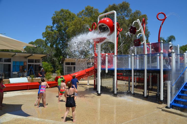 One of the biggest #splashparks made by the company opens at BIG4 Marion Holiday Park