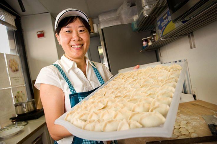 CHRIS DUFFEY - Amy Liu's handmade dumplings may be the best in the East Bay.