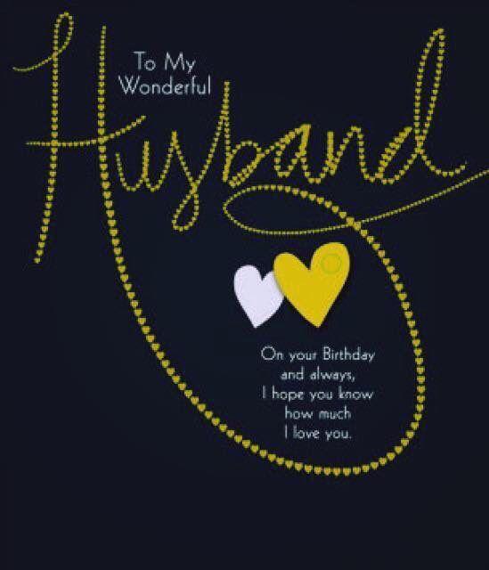 25 best ideas about Happy birthday husband – Birthday Card Sayings Husband