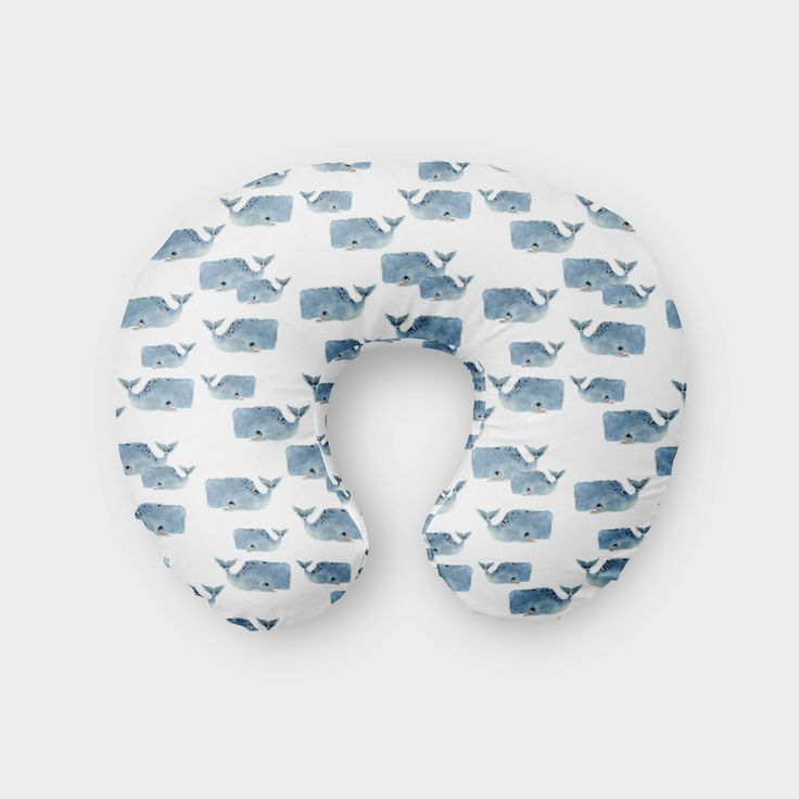Excited to share the latest addition to my #etsy shop: Whale Boppy Pillow Cover // Nursing Pillow Cover // Boppy Pillow // Cotton Boppy Pillow // Minky Boppy http://etsy.me/2EniPan #fraichebaby #bedroom #bedding #boppycover #boppy #nursingpillow #nursingpillowcover