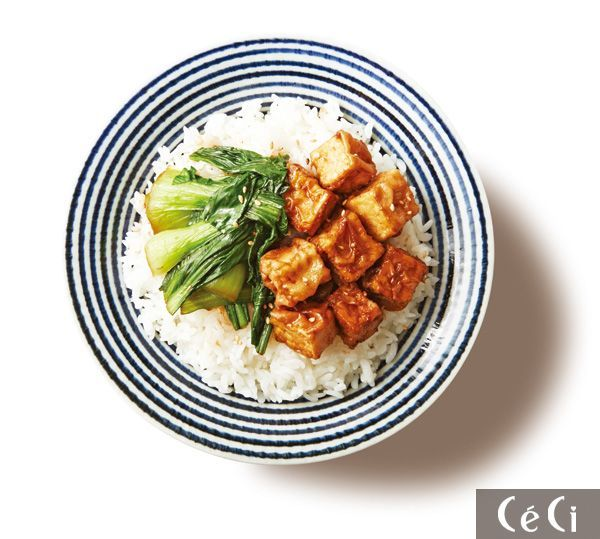 Tofu (두부 데리야키 덮밥)