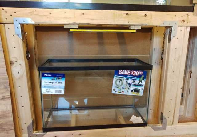 how to build stacked75 gallon aquarium stand