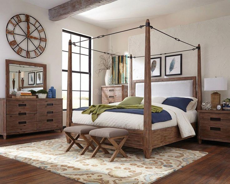 Madeleine Canopy Bedroom Set In 2019