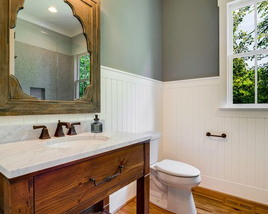 The Art Gallery Fascinating White Beadboard Lowes Combined With White Washbasin And Wooden Vanity Brilliant Beadboard Lowes For Country BathroomsFarmhouse BathroomsSmall