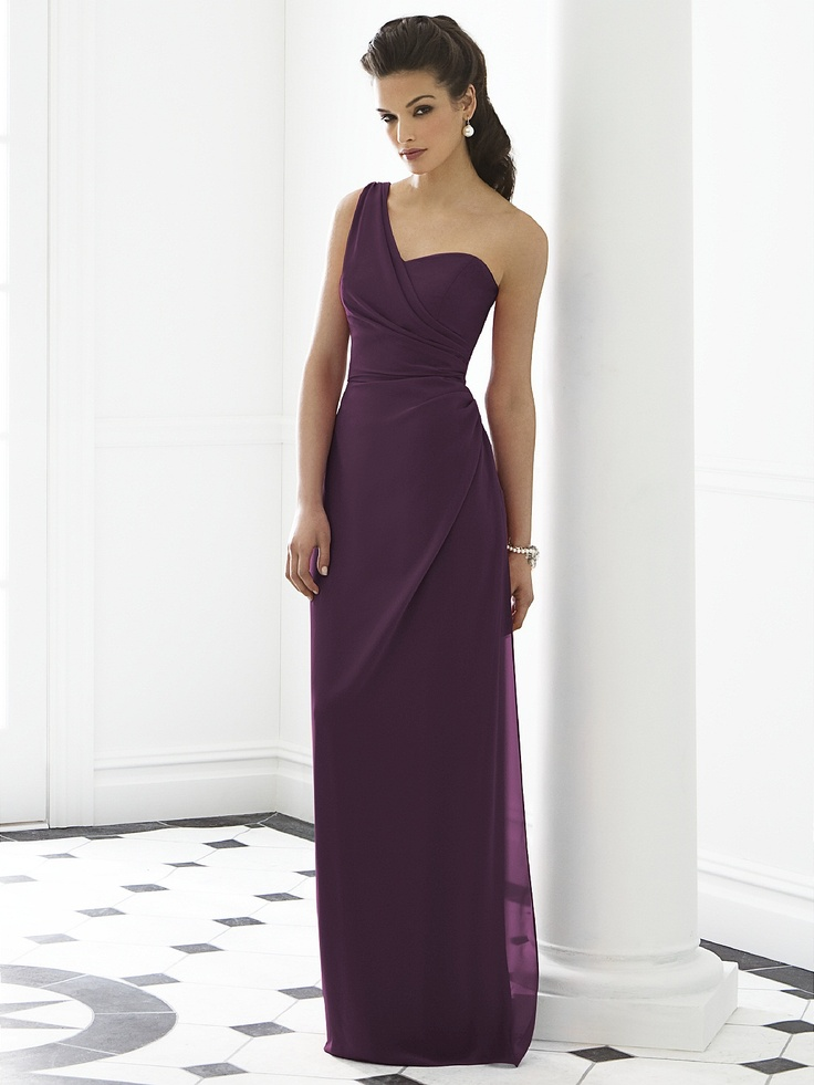 Dessy Group Dress. I'm loving the goddess look! I want ALL my bridesmaids to be goddesses on my day ! This dress is what i'm looking for!