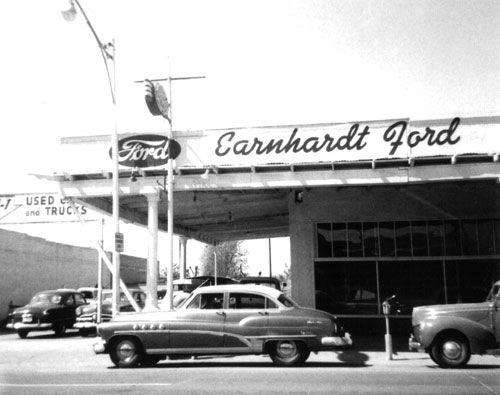 The Old Earnhardt Ford Location Dealership Car Dealership Used Car Lots