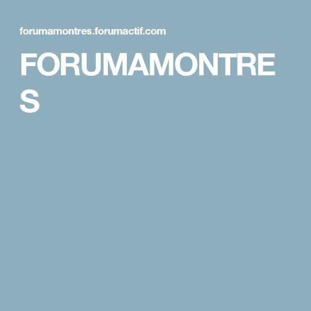 FORUMAMONTRES
