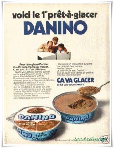 danino  de danone, le meilleur des desserts des annees 70.