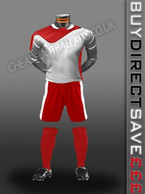 Legend Discount Football Kit White/Red