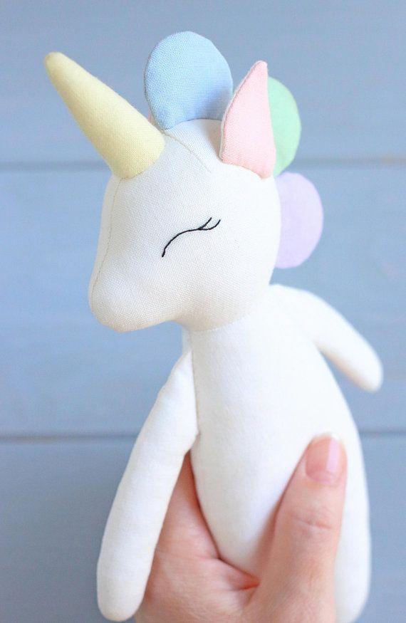 PDF Unicorn Pattern Unicorn Doll Soft Toy Animal Doll | Unicornio ...