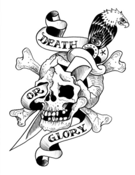 Ed Hardy Tattoo Coloring Pages
