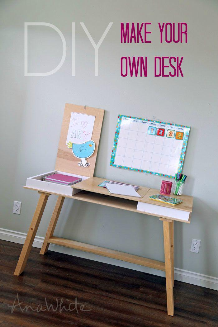 Easy Diy Drawers And Desks On Pinterest