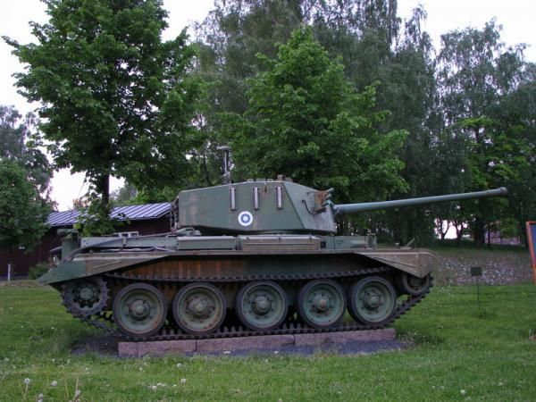 """The Charioteer tank destroyer officially known as FV4101 Cromwell Heavy AT Gun was a British tank destroyer, designed in the 1950s from the Cromwell tank. Finland bought 38 """"Charioteer Mk VII Model B"""" by 1960 and they remained in use until 1979. The tanks were stored until 2007 when they were auctioned out."""