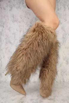 Fuzzy Boots, Cheap Fuzzy Boots, Sexy Fuzzy Boots For Women