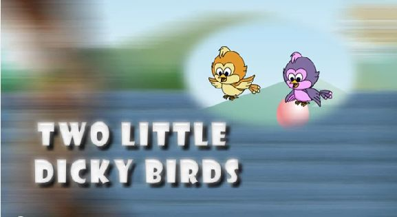 Two Little Dicky Birds 3D Animated English Nursery Rhyme For Children with Lyrics