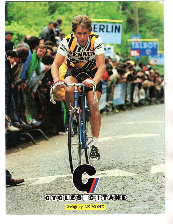 CARTE POSTALE CYCLES GITANE GREGORY LE MOND
