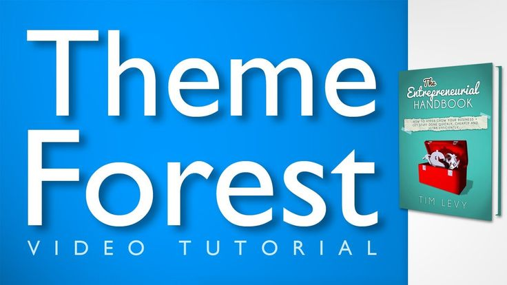 ThemeForest Tutorial - A Video Tutorial on Great Wordpress Themes from T...