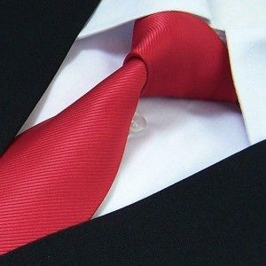 label-cravate - Cravate rouge
