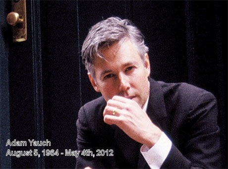 R.I.P. Adam Yauch. Thanks for all the music, MCA.