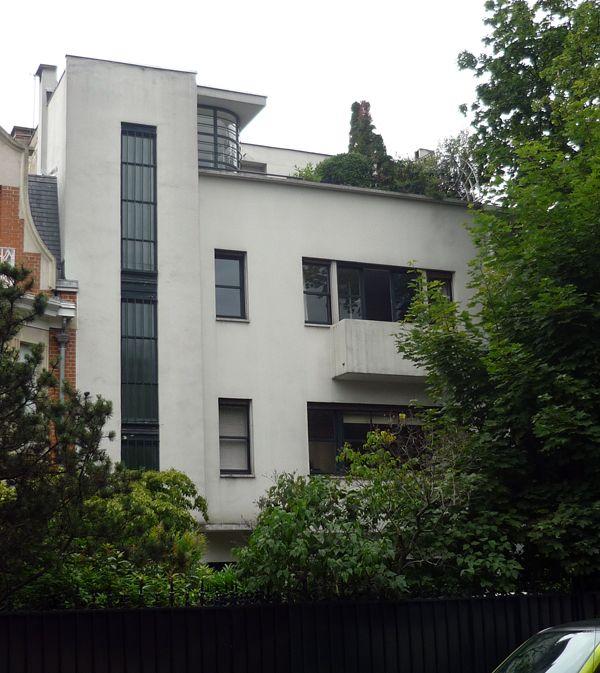 villa collinet by mallet stevens boulogne billancourt france achitectures pinterest. Black Bedroom Furniture Sets. Home Design Ideas