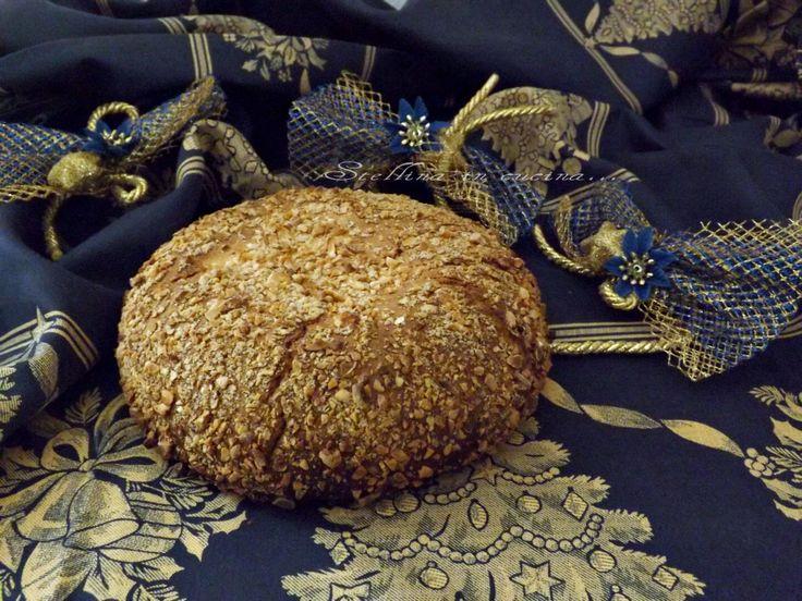 Pane di San Basilio - dolce natalizio greco