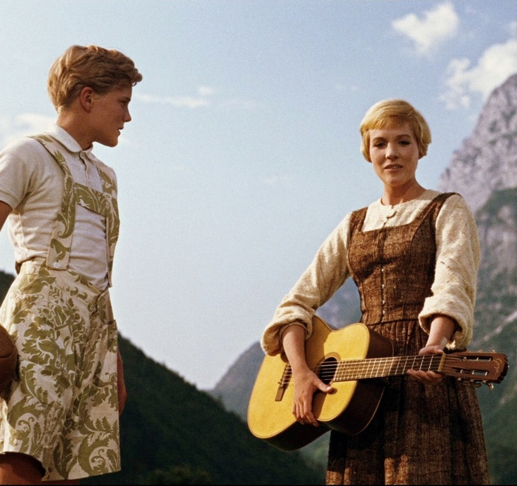 Nicholas Hammond and Julie Andrews